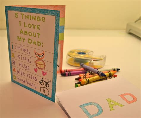 fathers day cards for children to make printable s day card for