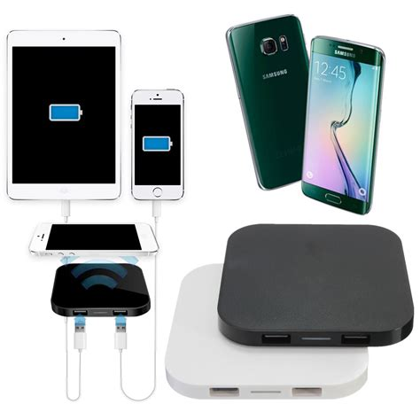iphone charging pad pro qi wireless charging charger pad mat for iphone samsung nokia htc lg sony ebay