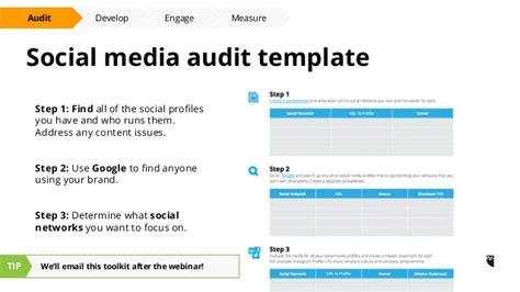 Social Media Audit Template Measureengagedevelopaudit Social Media Audit Template Hootsuite