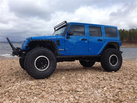 jeep wrangler blue blue customized jeep wranglers pixshark com images