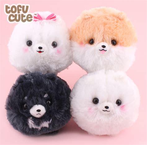white pomeranian stuffed animal buy authentic amuse fuwa mofu pometan pup 13cm small plush at tofu