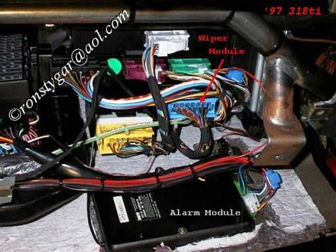 Alarm Motor E Lock Junior Ii by Question On Uk Spec Ti Alarm Immobiliser 318ti Org Forum