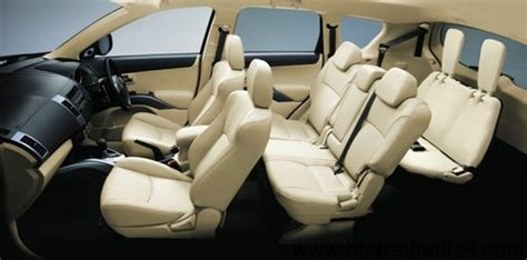 mitsubishi outlander 7 seater 2012 mitsubishi outlander 7 seater crossover launched at