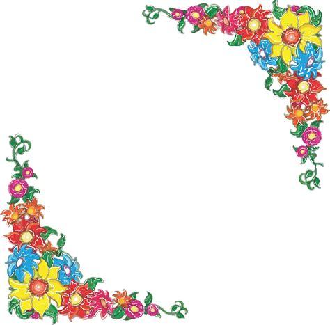 desain bingkai bunga gambar vektor gratis batas bunga bunga bunga desain