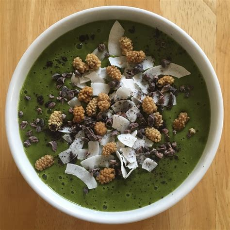 Green Detox Smoothie Bowl by Sweet Detox Green Smoothie Bowl On Mealz