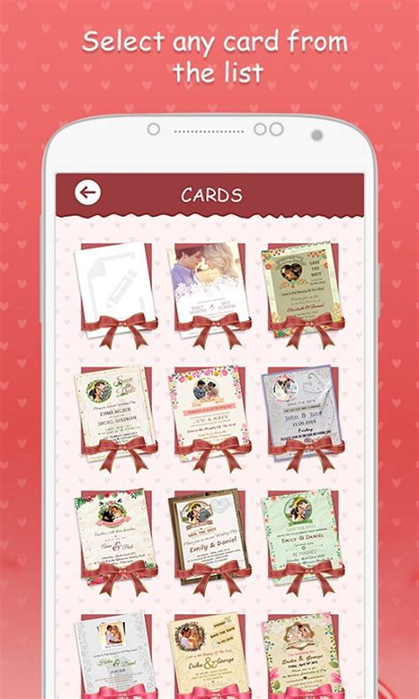 Wedding Invitation Card App by Wedding Invitation Cards Free Android App Android Freeware