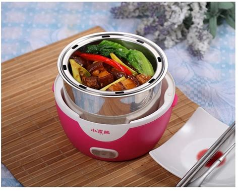 Gig Baby Cooker 1 5 L 1 3l electric portable lunch box mini rice cooker for