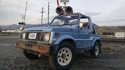 how can i learn about cars 1986 suzuki sj 410 instrument cluster 1986 suzuki samurai cars for sale