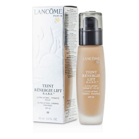Exc Liquid Foundation 03 20 Ml lancome teint renergie lift r a r e foundation spf 20