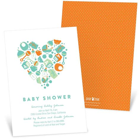 Essentials For Baby Shower by Essential Baby Items Baby Shower Invitations Custom