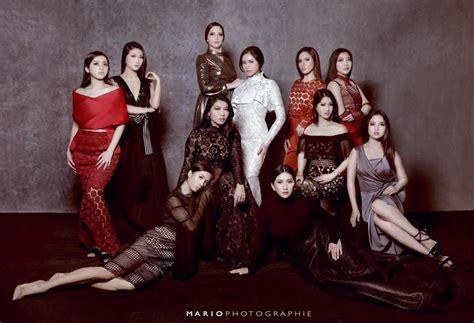New Nan Ruji Large Merah intip kumpulan foto glamor geng sosialita squad