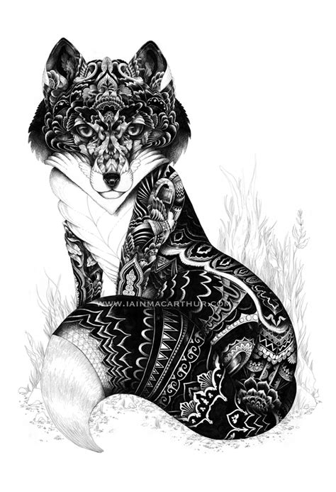 zentangle tattoo animal not really zentangle but awesome idea zentangles and