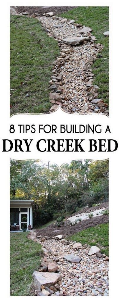 how to build a dry creek bed a dry creek bed for beauty and drainage