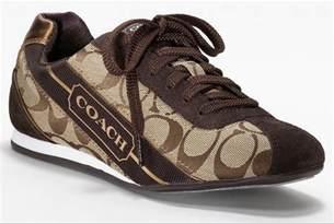 coach tennis shoes new coach hilary khaki brown signature cc tennis sneakers