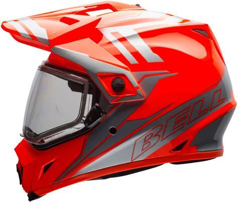 motocross snowmobile helmets bell powersports mx 9 adventure dual shield snowmobile helmet