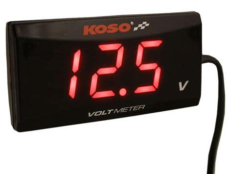 Voltmeter Koso voltmeter koso slim style