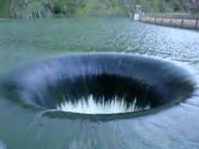 Lake Berryessa Drain Monticello Dam Drain Hole