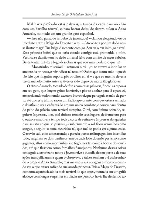 O Fabuloso Livro Azul - Andrew Lang by Editora Concreta