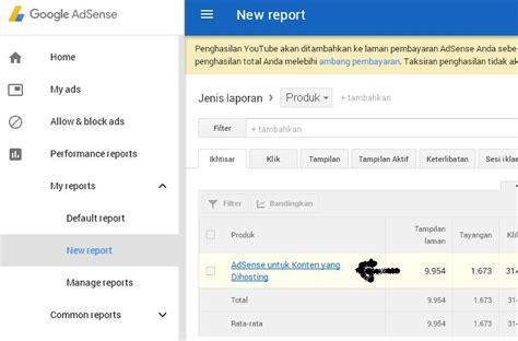 adsense masuk cara melihat penghasilan youtube di akun google adsense
