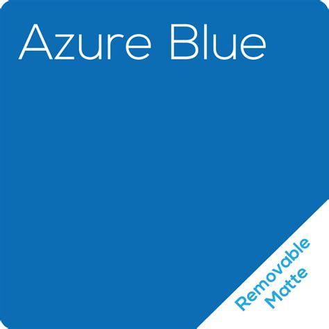 Stiker Matte Azure Blue matte azure blue removable