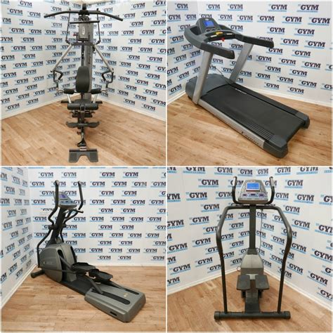 6 refurbished cardio strength package