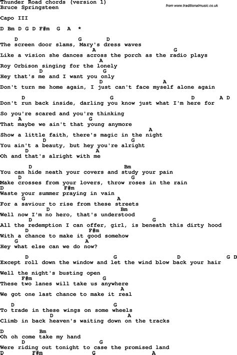 springsteen lyrics springsteen lyrics 28 images eric church springsteen