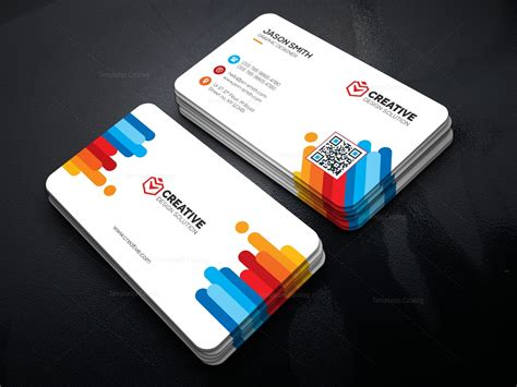 corporate business card template psd view 3 business cards