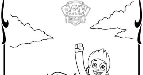 paw patrol characters coloring pages free coloring pages of paw patrol p