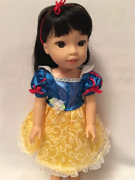 Handmade Princess Costumes - for 14 5 quot american wellie wishers doll clothes snow