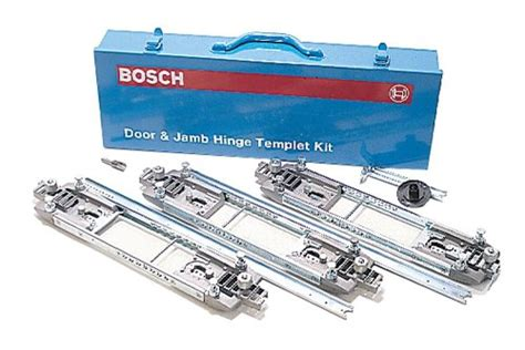 door jamb hinge template bosch 83038 deluxe door and jamb hinge template kit new