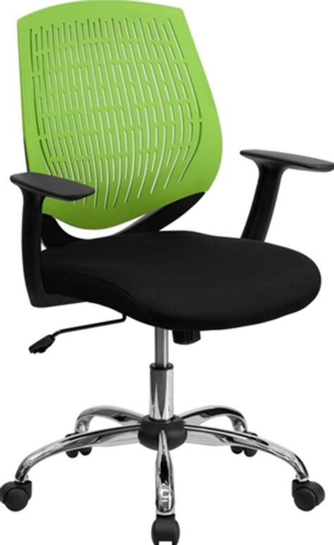 green desk chair colorful chairs to brighten up the workplace