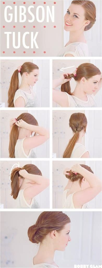 quick and easy hairstyle tutorials quick and easy diy hairstyle tutorials