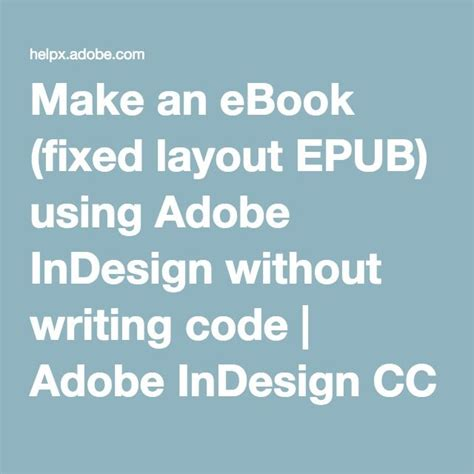 fixed format epub indesign 17 best ideas about writing code on pinterest computer