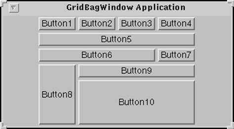 java layout gridbaglayout how to use gridbaglayout the applet exle explained