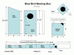 How To Build Simple Bluebird House Plans Pdf Plans Bluebird House Plans