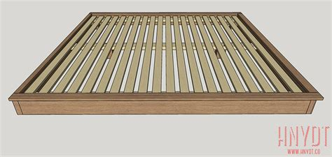 King Size Platform Bed Plans Build A King Sized Platform Bed Diywithrick