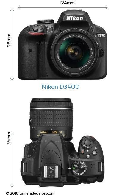 nikon specs nikon d3400 review and specs