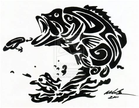 tribal fish tattoos tribal tattoo fish nice tatoo koi