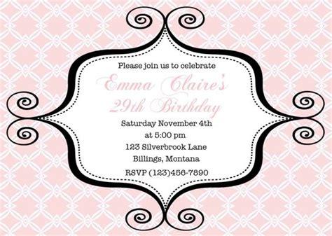 printable birthday invitations adults free printable birthday invitations for adults party