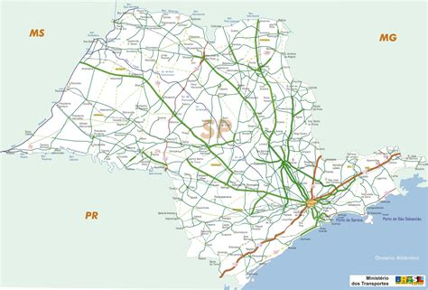 sao paulo state map map of brazil states sao paulo images