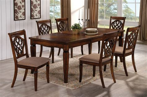 coaster dining room set hayden dining set 5pc 103391 by coaster in oak w options