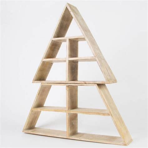 wooden display shelves wooden display shelf tree by thelittleboysroom notonthehighstreet