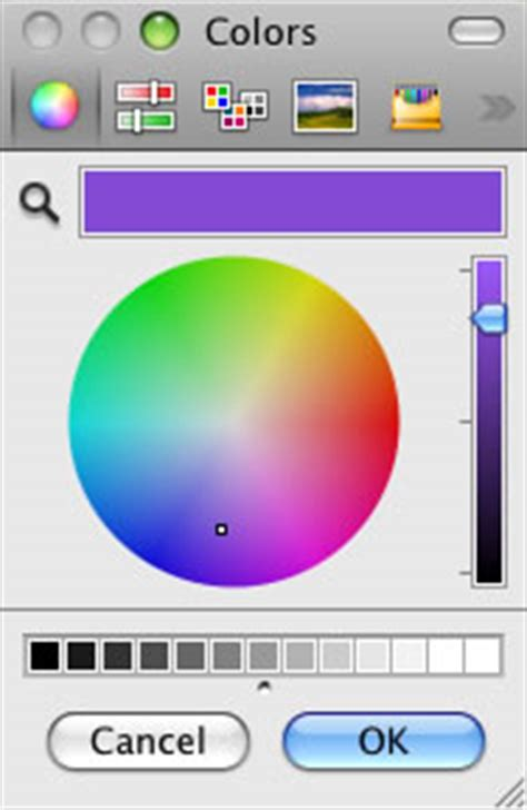color picker mac using the mac os x color picker 169 robin wood 2009