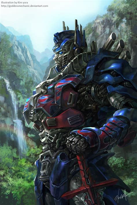 Tf4 Optimus Prime tf4 optimus prime fan by goddessmechanic on deviantart