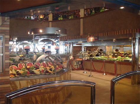 panoramio photo of carnival magic buffet area