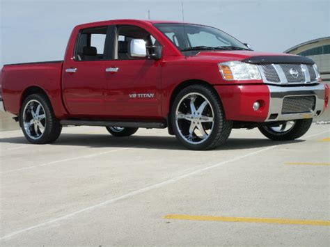 nissan truck titan red nissan titan price modifications pictures moibibiki