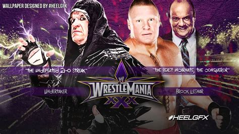theme song wrestlemania 30 2014 undertaker vs brock lesnar wwe wrestlemania 30