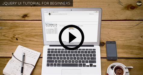 jquery tutorial with exles for beginners jquery ui tutorial for beginners with exles