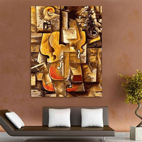 picasso paintings number picasso violin diy paint by numbers paint by numbers