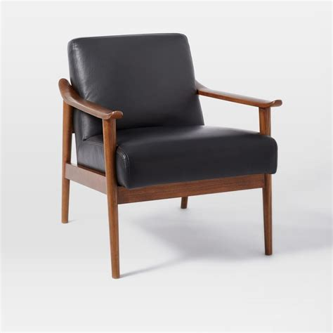 mid century leather dining chair west elm uk mid century leather show wood chair west elm uk